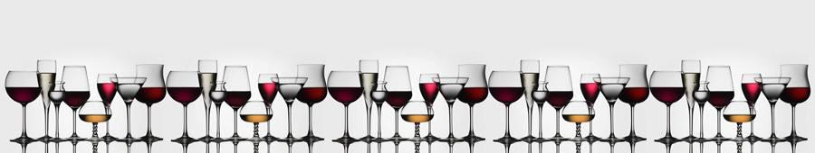 Скинали — Бокалы вина разной формы