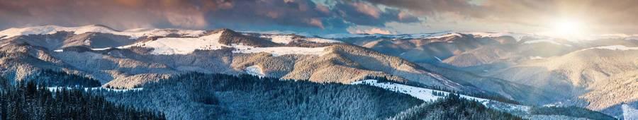 Скинали — Восход солнца в горах