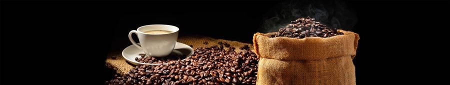 Скинали — Кофе, кофейные зерна на черном фоне