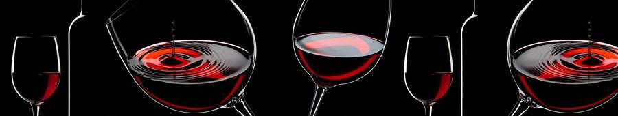 Скинали — Бокалы с красным вином