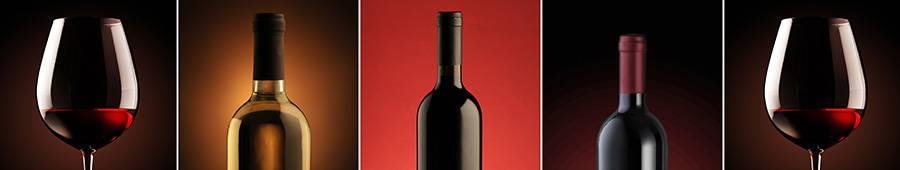 Скинали — Винные бокалы и бутылки