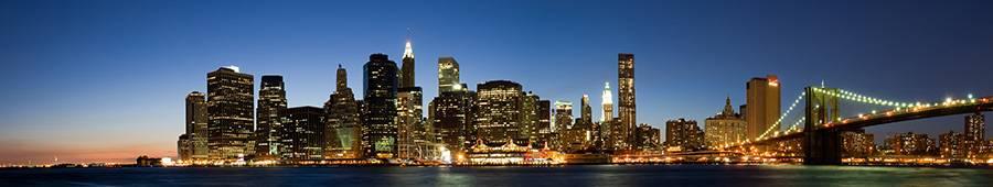 Скинали — Панорама вечернего Нью-Йорка