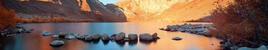 Скинали — Красивый пейзаж горной реки