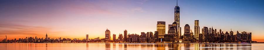 Скинали — Красивая панорама города