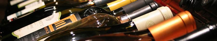 Скинали — Коллекция винных бутылок